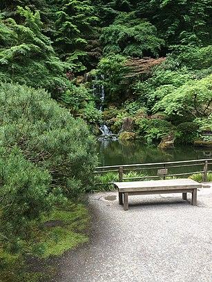 Como chegar até Portland Japanese Garden com o transporte público - Sobre o local