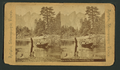 View on the Merced River, Yosemite Valley, Cal, from Robert N. Dennis collection of stereoscopic views.png