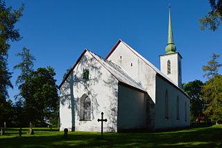 Kivi-Vigala Village in Rapla County, Estonia