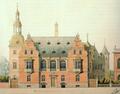 Vilhelm Klein tegning til Kunstindustimuseet.png