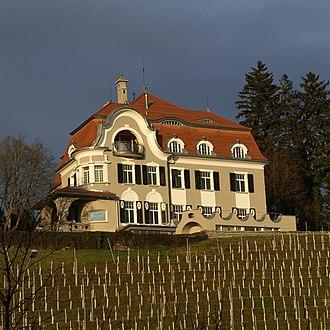 Balgach - Balgach villa, a 17th-century Art Nouveau villa near Balgach