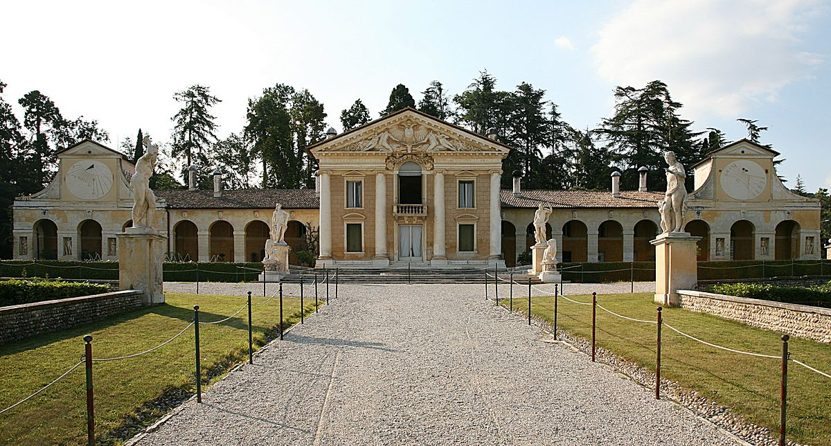 Villa barbaro wikipedia for Ville antiche interni