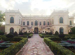Villa Francia - Villa Francia as seen from the front garden