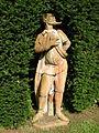 Villa reale di marlia, teatro di verzura, statua in terracotta 02.JPG