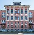 Villach Richard-Wagner-Straße 19 Richard-Wagner-Schule N-Seite Risalit 17082018 4108.jpg