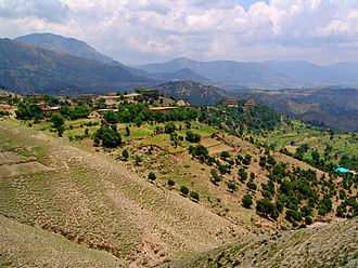 Kurram Agency - Image: Village Tari Mengal Pewar Kurram Agency
