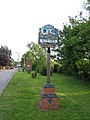 Village sign, Haynes Silver End, Beds - geograph.org.uk - 174985.jpg