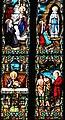 Villeréal - Église Notre-Dame - Vitrail avec apparitions -1.jpg