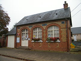 The town hall in Villers-aux Erables