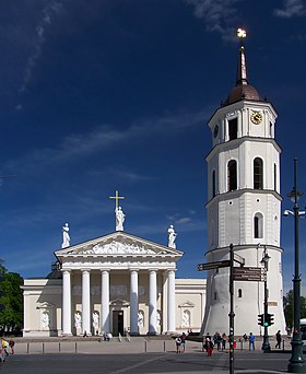 Image illustrative de l'article Cathédrale de Vilnius