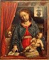 Vincenzo foppa, madonna col bambino e un angelo, 1460 circa (da uffizi) 02.JPG