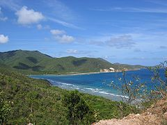 Virgin Islands National Park widoczny z Cocoloba Point