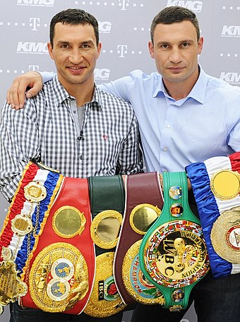 Vitali Klitschko and his brother, Wladimir VladimirVitaliy.jpg