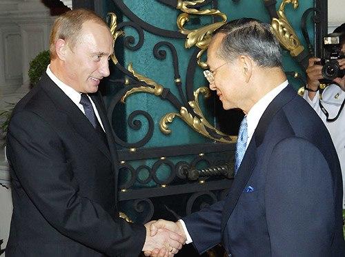 Vladimir Putin in Thailand 21-22 October 2003-10