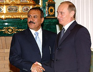 THE KREMLIN, MOSCOW. With the President of the...