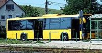 Volánbusz line 326, Mogyoród HÉV Station.JPG