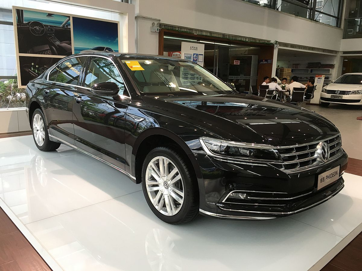 Vw Phideon Wikipedia
