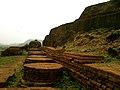 Votive stupas at Bojjannakonda Monastic ruins.jpg