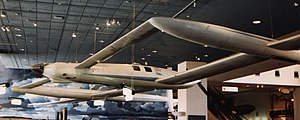 Burt Rutan - Rutan Voyager on display in the National Air and Space Museum