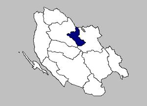 Vrhovine - the Vrhovine municipality within the Lika-Senj County