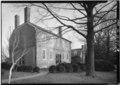 WEST FRONT AND NORTH SIDE - Kenmore, 1201 Washington Avenue, Fredericksburg, Fredericksburg, VA HABS VA,89-FRED,1-31.tif