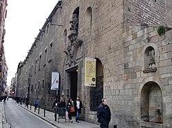 WLM14ES - Antic Hospital de la Santa Creu, Raval, Barcelona - MARIA ROSA FERRE (1).jpg