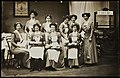 WSPU waitresses at Women's Exhibition, 1909. (22592037830).jpg
