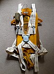 WWII Observer parachute harness with B-4 Mae West life preserver.jpg