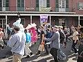 WWOZ 30th Birthday Parade Passing Station.JPG