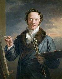 W A Hobday - Self portrait 1814.jpg