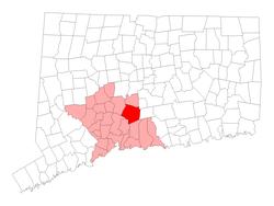 Loko en New Haven County, Konektikuto