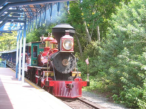 Walt Disney World Railroad No4