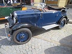Walter Junior, kabriolet (1934), Křivonoska 2020.jpg