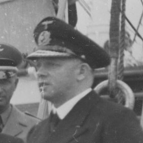 Walter Warzecha on the deck of a training ship (cropped).jpg