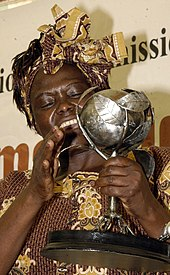 Wangari Maathai - Wikipedia, the free encyclopedia