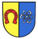 Coat of arms of Eggenstein-Leopoldshafen