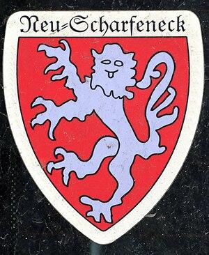 Neuscharfeneck Castle - Coat of arms of Neuscharfeneck