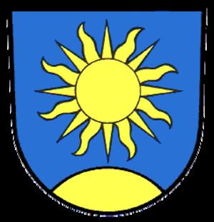 Sonnenbühl - Image: Wappen Sonnenbuehl