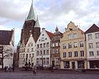 Warendorf - Marktplatz - Niemcy