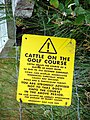 Warning - Cows! - geograph.org.uk - 199913.jpg