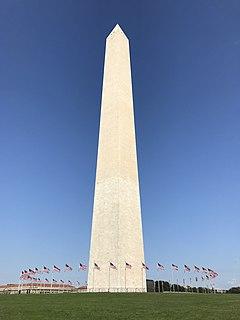 Washington Monument Obelisk in Washington, D.C.