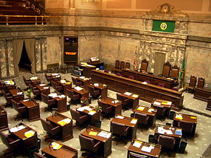 Washington State Senate - Image: Washington State Senate chamber