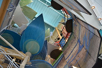 Glazer Children's Museum - Image: Water's Journey