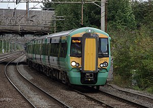 Govia Thameslink Railway - Southern Class 377 at Watford Junction