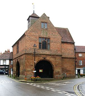 Watlington, Oxfordshire - Image: Watlington townhall 1