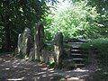 Wayland's Smithy, Iron Age long barrow near the Ridgeway - geograph.org.uk - 932998.jpg
