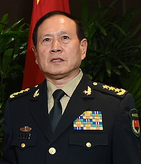Wei Fenghe General of the Chinese Peoples Liberation Army