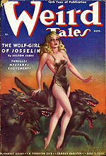 Weird Tales cover image for August 1938
