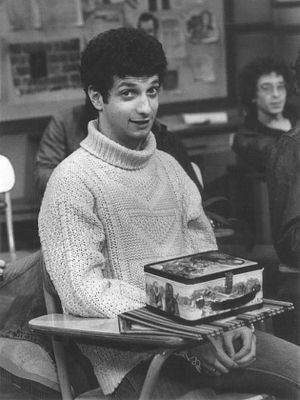 "Ron Palillo - Palillo as ""Sweathog"" Arnold Horshack on Welcome Back, Kotter, c. 1976"