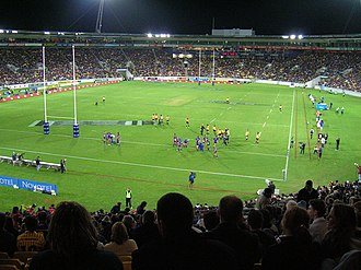 2002 New Zealand rugby league tour of Great Britain and France - Image: Wellington regional stadium
